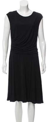Max Mara Knee-Length Ruched Dress
