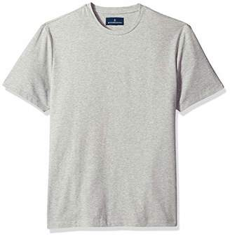 Buttoned Down Men's Short-Sleeve Crew Neck Supima Cotton Stretch T-Shirt