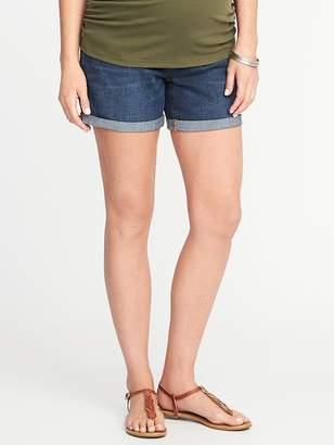 "Old Navy Maternity Side-Panel Denim Shorts (5"")"