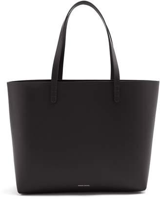 Mansur Gavriel Red-lined large leather tote bag