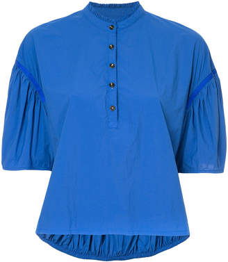 Kolor puffball sleeved shirt