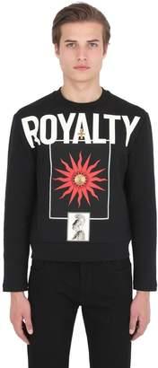 Fausto Puglisi Royalty Printed Sweatshirt