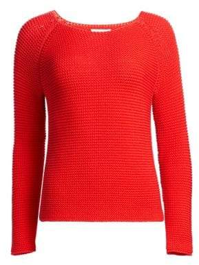 Fabiana Filippi Open Stitch Boatneck Sweater
