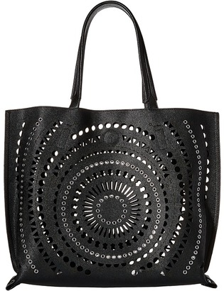 Chinese Laundry AnnaBelle Perforated Reversible Tote $89 thestylecure.com