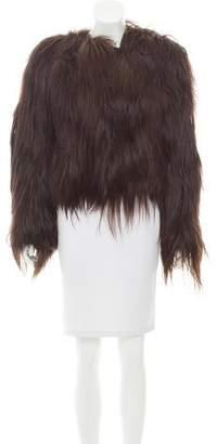 J. Lindeberg Goat Hair & Leather Jacket