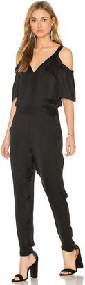 Ella Moss Cold Shoulder Jumpsuit $278 thestylecure.com