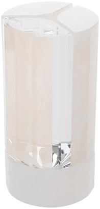 Swarovski Crystal & Pink Onyx Vase