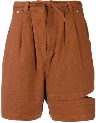 Perks And Mini Bri Bri cut-out shorts