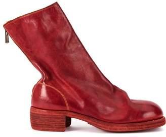 Guidi soft zipped boots