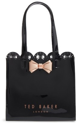 Ted Baker London Bow Detail Small Icon Bag - Black $45 thestylecure.com