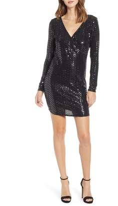Leith Sequin Sheath Dress