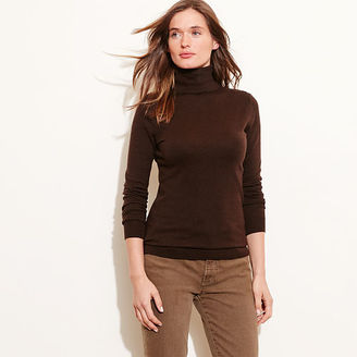 Ralph Lauren Silk-Cotton Turtleneck $115 thestylecure.com