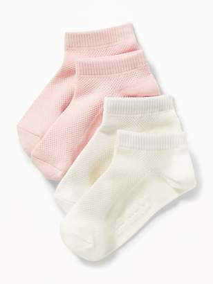 Old Navy Sport Ankle Socks 2-Pack for Toddler Girls & Baby