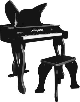 Schoenhut 37-Key Electronic Butterfly Piano & Bench, Black