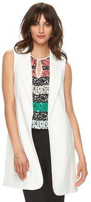 Women's ELLETM Long Vest $60 thestylecure.com