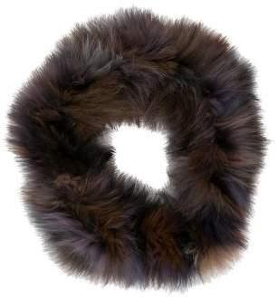 Jocelyn Fox Fur Infinity Scarf