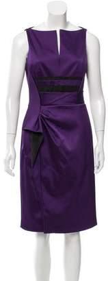J. Mendel V-Neck Cocktail Dress w/ Tags