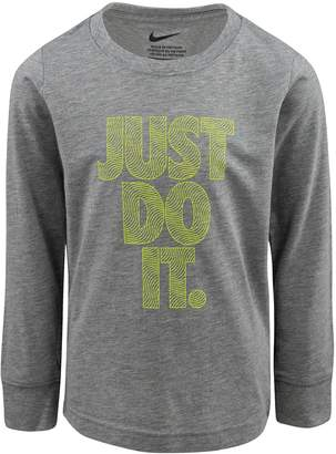 "Nike Boys 4-7 Just Do It."" Graphic Tee"