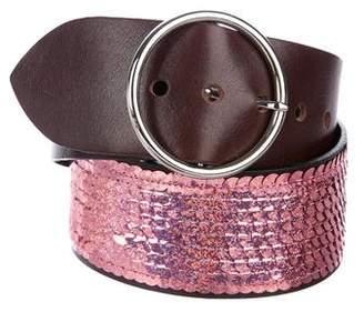 Dolce & Gabbana Sequin Wide Belt