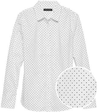 Banana Republic Riley Tailored-Fit Polka Dot Shirt