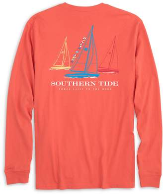 Southern Tide Three Sails Long Sleeve T-shirt