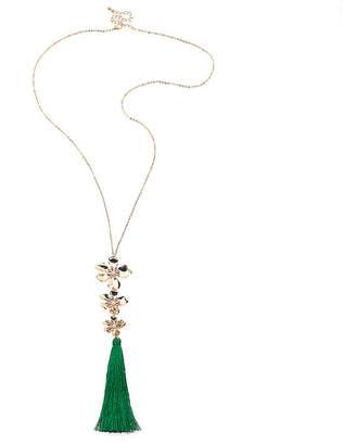 clear BIJOUX BAR Bijoux Bar Womens Beaded Necklace