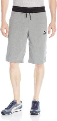 Puma Men's Reversible Bermuda Shorts, Black, X-Large