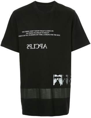 Julius printed T-shirt