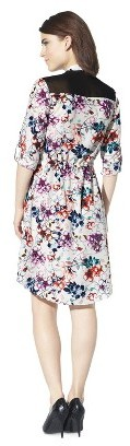 Mossimo Women's 3/4 Sleeve Shirt Dress - Assorted Colors