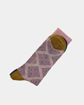 Ted Baker TAPLOW Geometric Pantherella socks