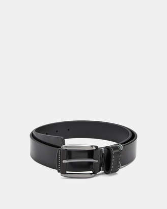 Ted Baker PERC Stitch detail leather belt