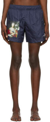 Off-White Navy Mariana De Silva Swim Shorts