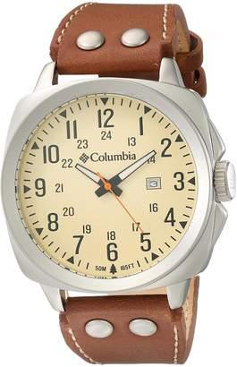 Columbia Men's CA018-220 Cornerstone Analog Display Quartz Brown Watch