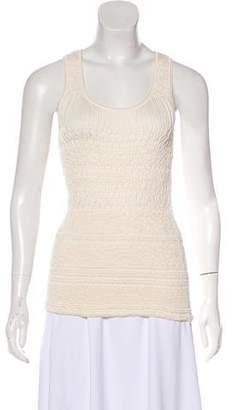 Nina Ricci Silk Sleeveless Top