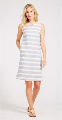J.Mclaughlin Arroyo Linen Dress in Stripe