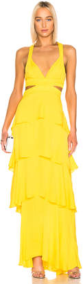 A.L.C. Lita Dress in Yellow | FWRD