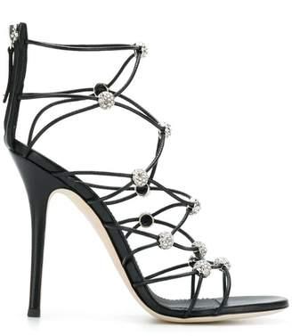 Giuseppe Zanotti Design strappy crystal sandals