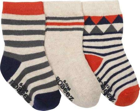 Geometric Baby Sock 3 Pack (9 Pairs) (Infant/Toddler Boys')