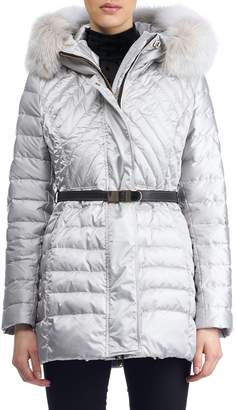 Gorski Apres-Ski Down-Fill Jacket with Fox Fur Hood
