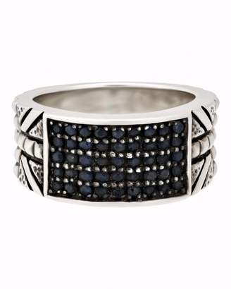 Stephen Webster 925 Sterling Silver Alchemy Blue Sapphire Ring Size 11