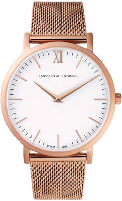 Larsson & Jennings LJ-W-CMROSE-O-RG Lugano 40 Mesh Watch