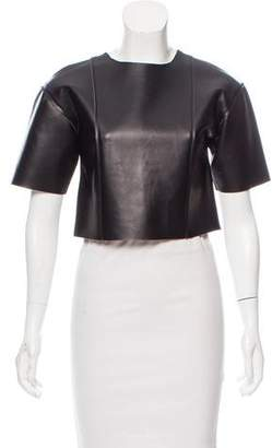 Alexander Wang Structured Crop Top
