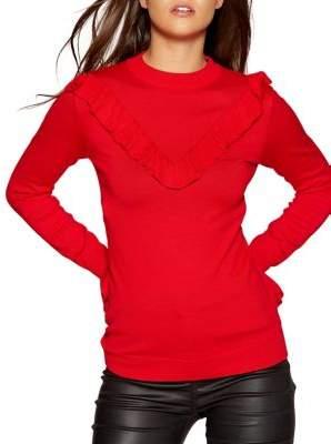 Quiz Frill Knit Sweater