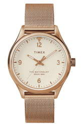 Timex Waterbury Mesh Strap Watch, 38mm
