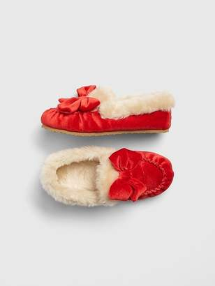 Gap Velvet Crazy Moccasin Slippers