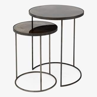 Reflect Bronze Nesting Tables