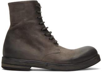 Marsèll Grey Zucca Zeppa Boots