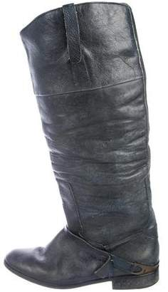 Golden Goose Distressed Leather Boots