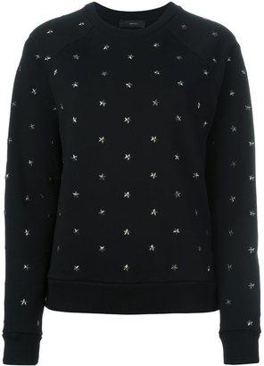 Diesel star stud sweatshirt $221.48 thestylecure.com