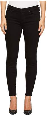 Liverpool Petite Abby Skinny Perfect Black Jeans in Black Rinse Women's Jeans